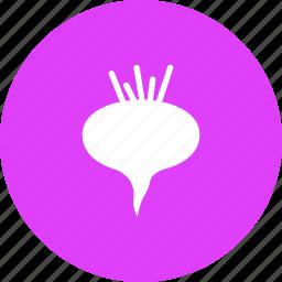 beet, food, root, underground, vegetable icon