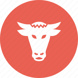 agriculture, animal, bull, cow, farm, livestock, ox icon