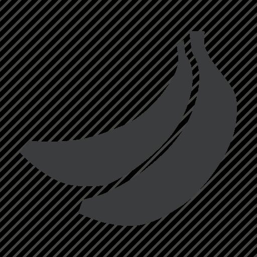 banana, eat, food, fruit, healthy icon