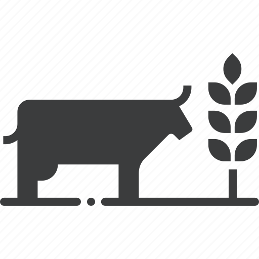 agriculture, cattle, cow, crop, cultivate, farming, livestock icon