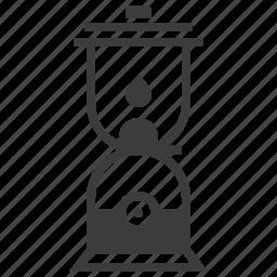 farm, farmer, gardener, lamp, lantern, light, night icon