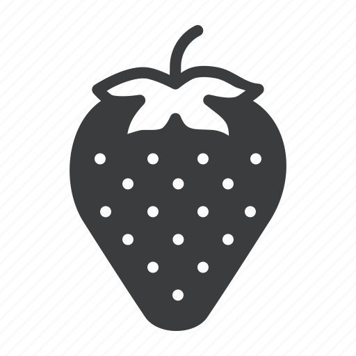 berry, food, fruit, healthy, strawberry icon