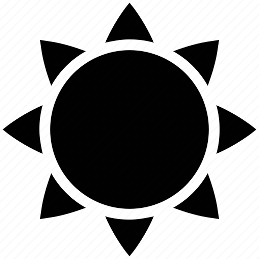 climate, forecast, hot, sun, sunny, temperature, weather icon