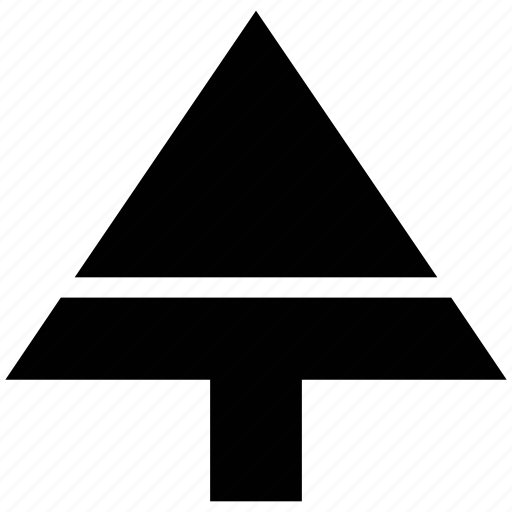 christmas, evergreen, fir, greenness, nature, single tree, tree icon