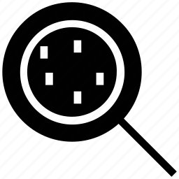 magnifier, magnifying glass, magnifying lense, searching tool, zoom icon