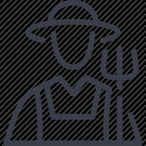 agriculture, farmer, granger, rancher icon