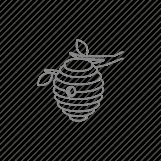 bee, beehive, breeding, hive, honey, honeycomb, nest icon