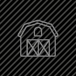 garage, granary, hangar, hay, storage, storehouse icon