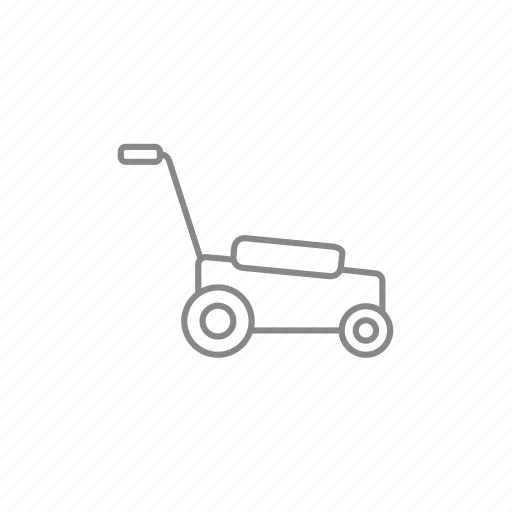 cutter, gardening, lawn, lawnmower, mow, mower, roller icon