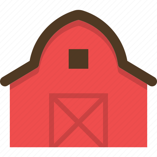 agriculture, animals, barn, domestic, farm, village icon
