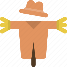 agriculture, farm, field, private, protection, scarecrow, trespass icon