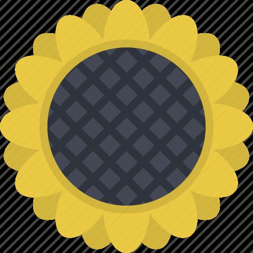 agriculture, crops, farm, field, plant, sunflower, village icon