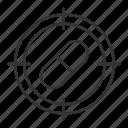 aim, drug, hunt, medicine, pharmacy, pill, target icon