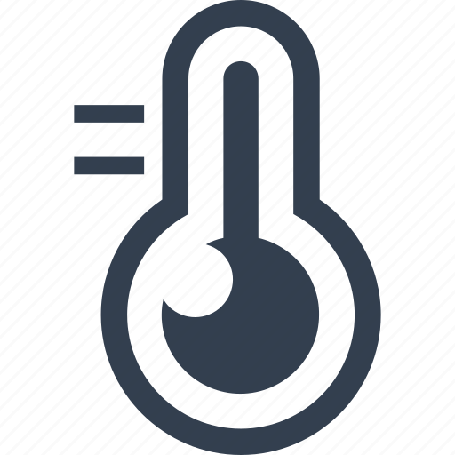 air, conditioning, degrees, temperature, thermometer icon