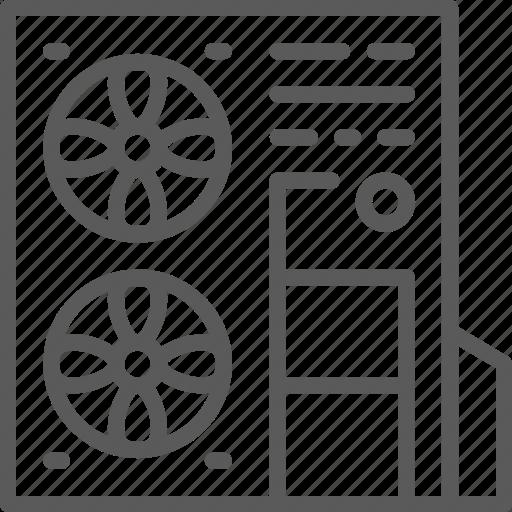 air, conditioner, conditioning, equipment, heat, multi-split, system icon