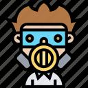 gas, mask, toxic, epidemic, protection