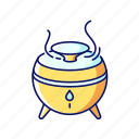 air, climate, color, diffuser, filter, purifier, regulation icon