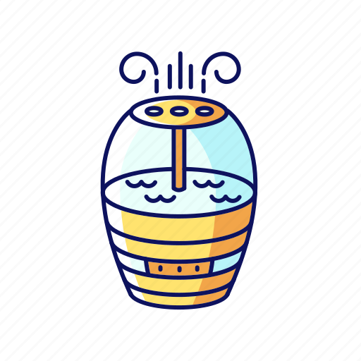 Air, cleaner, color, filter, humidifier, ionizer, purifier icon - Download on Iconfinder