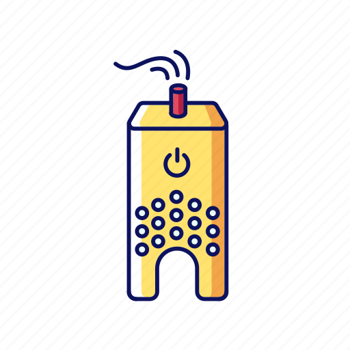 Air, cleaner, color, filter, humidifier, purifier, ultrasonic icon - Download on Iconfinder