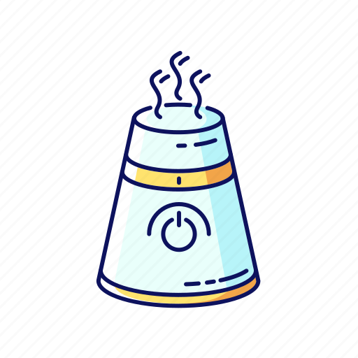 Air, color, evaporator, humidifier, ionizer, moisturizing, purifier icon - Download on Iconfinder