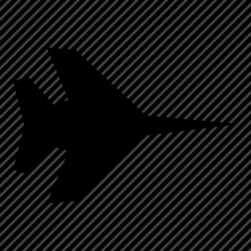 aeroplane, aircraft, airplane, plane icon
