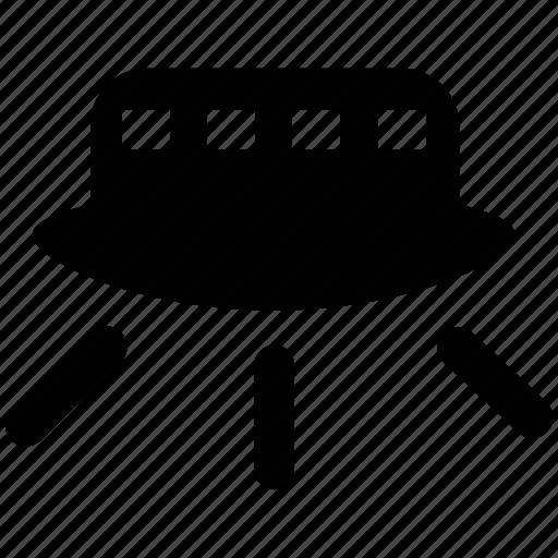 alien ship, alien spacecraft, spaceship, ufo, unidentified flying object icon