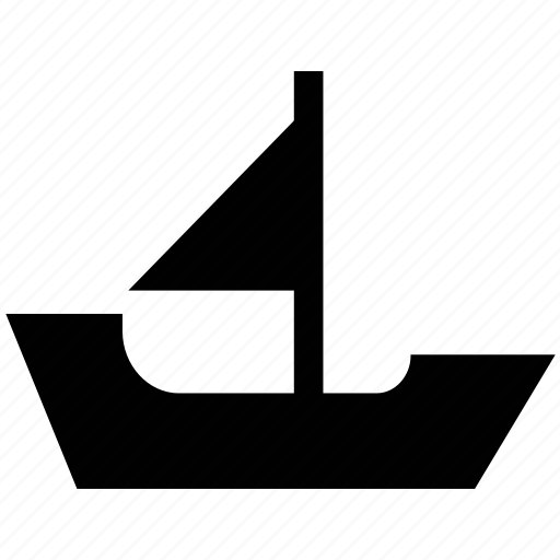 boat, boating, sail, sailing boat, water transport, watercraft, yacht icon