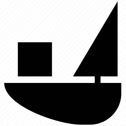 boat, sail, sailing boat, steamboat, watercraft, yacht icon