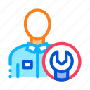 mechanic, repair, service, spanner, wrench icon