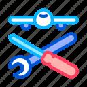 equipment, instrument, repair, tool icon