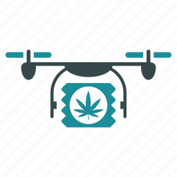 aircraft, cannabis, drone, drugs, flying copter, nanocopter, quadcopter icon