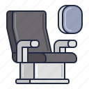 airline, cabin, transportation icon