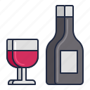 airline, complimentary, drink icon