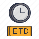 airline, etd, transportation icon