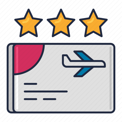 airline, flyer, frequent, program icon