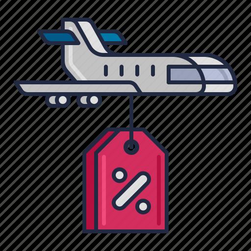 airline, lcc, transportation icon