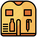 life, lifejacket, lifesaver, preserver, security, vest icon