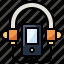 entertainment, monitor, multimedia, music, saxophone, transportation icon