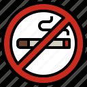 cigarette, forbidden, no, prohibition, signaling, smoking, warming