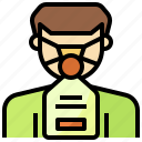 and, emergency, healthcare, mask, medical, oxygen icon