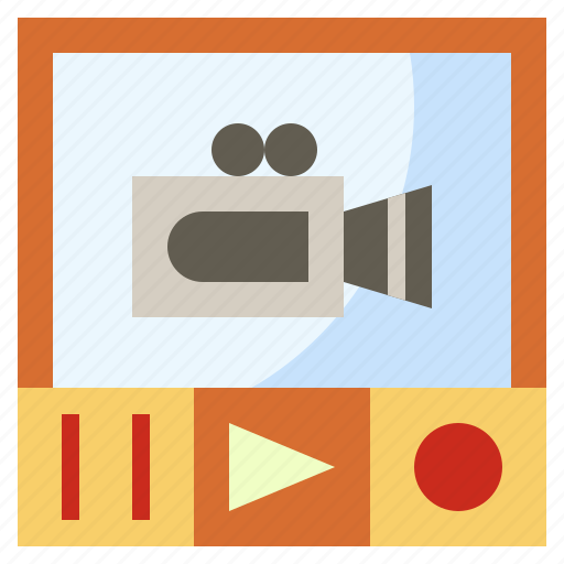 movie, multimedia, music, play, player, video icon