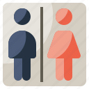 bathroom, furniture, household, restroom, signaling, toilet, toilets icon