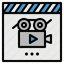 entertainment, monitor, movie, multimedia, seat icon