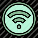 internet, multimedia, technology, wifi, wireless icon