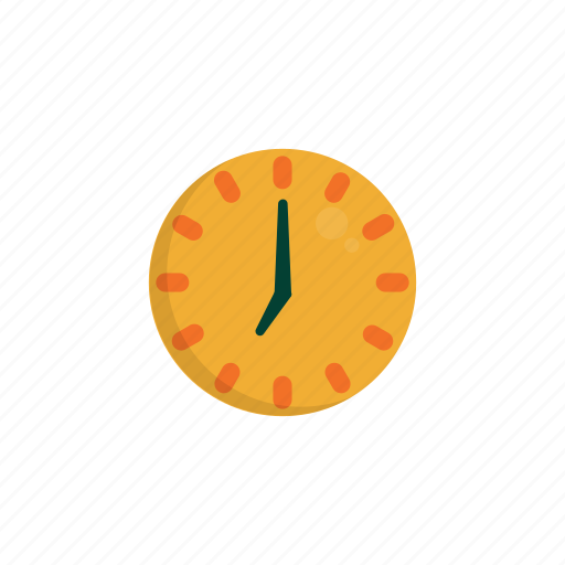 airport, clock, schedule, time, timer, wall icon