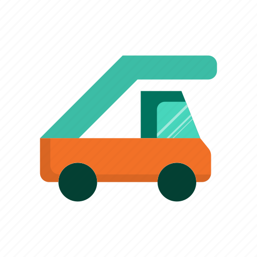 delivery, stair, transport, truck, vehicle icon