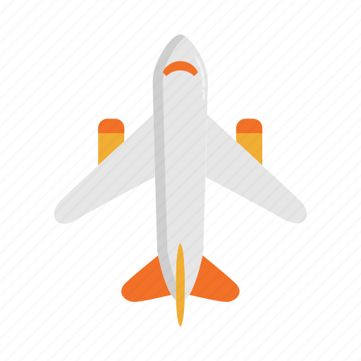 aeroplane, aircraft, airplane, airport, flight, plane, travel icon