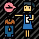 baggage, flight, passenger, suitcase, woman