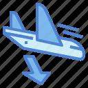 aircraft, airplane, flight, landing, plane