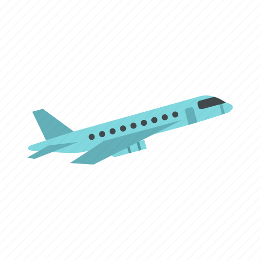air, aircraft, airplane, flight, plane, transportation, wing icon